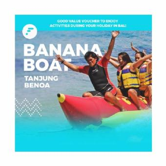 Voucher Banana Boat di Tanjung Benoa - watersport