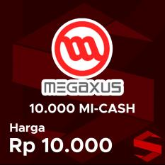 Voucher Megaxus 10000 (10.000 MI-CASH)