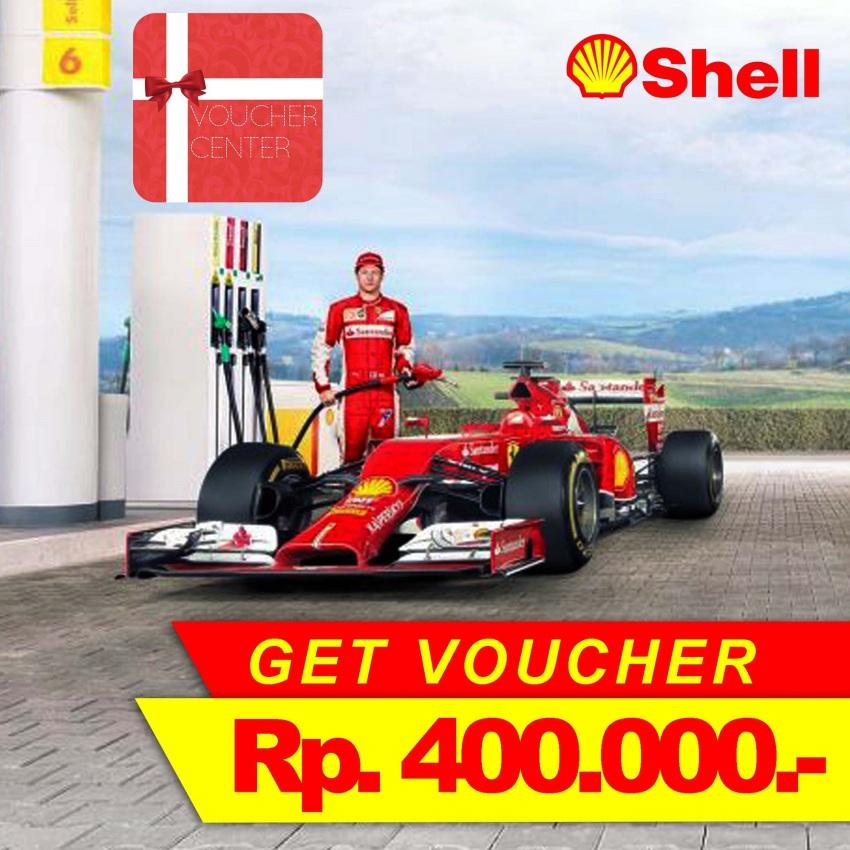 Voucher Shell Rp 400.000
