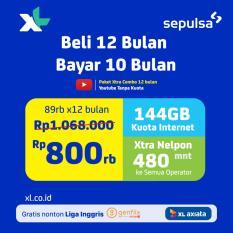 XL XTRA Combo 12GB - 12bln