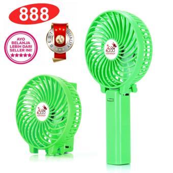 888 Kipas Mini Lipat Portable Handy Mini Fan Rechargeable