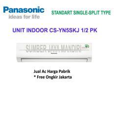 AC PANASONIC SPLIT CS-YN5SKJ 1/2 PK - Putih