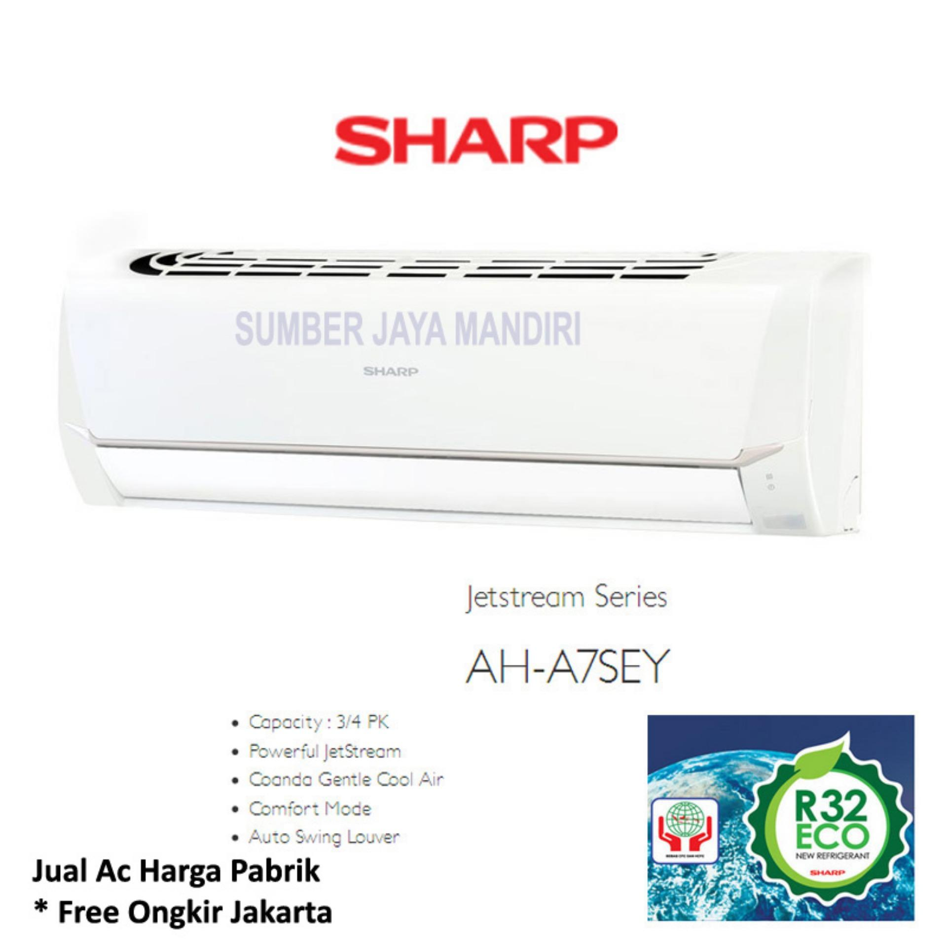 Sharp Air Conditioner Jetstream Plasmacluster Series 075pk Ahap7ssy Ac Split Sayonara Panas Ah Ap 9shl 1 Pk Low Watt Putih A7sey Khusus Jabodetabek Daftar Update Source