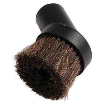 Ai Home Horse Hair Round Dusting Brush Vacuum Cleaner Dust Tool 40mm Black