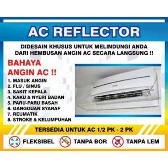 Akrilik AC 80 Cm - Talang Ac Penahan Hembusan Ac