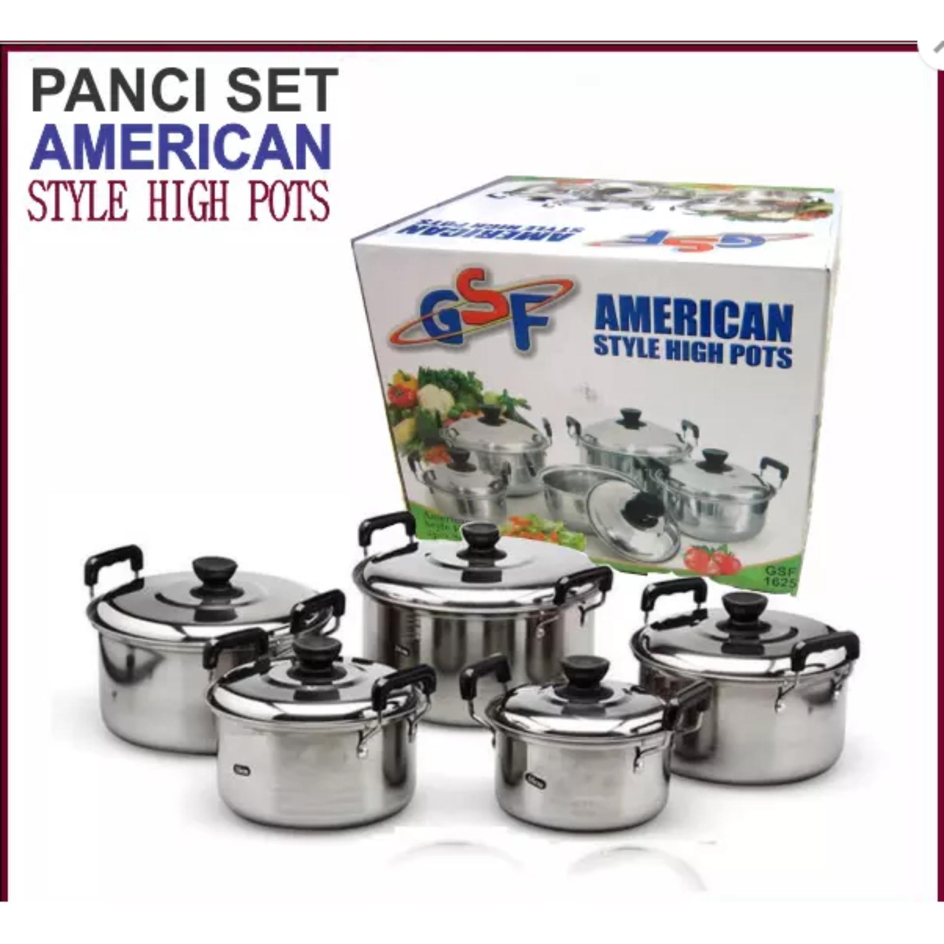 ... American Pots Panci Set Steinless 5 Pcs ...