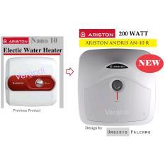ARISTON Water Heater Andris AN-10 R, Kapasitas 10 LT , Irit 200 Watt, Cukup Untuk Keluarga Muda