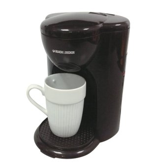 Black + Decker Coffee Maker Mini 1 Cup - DCM25B1