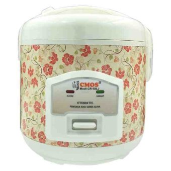 Cmos Rice Cooker CR-10LJ 1.2Liter - Merah
