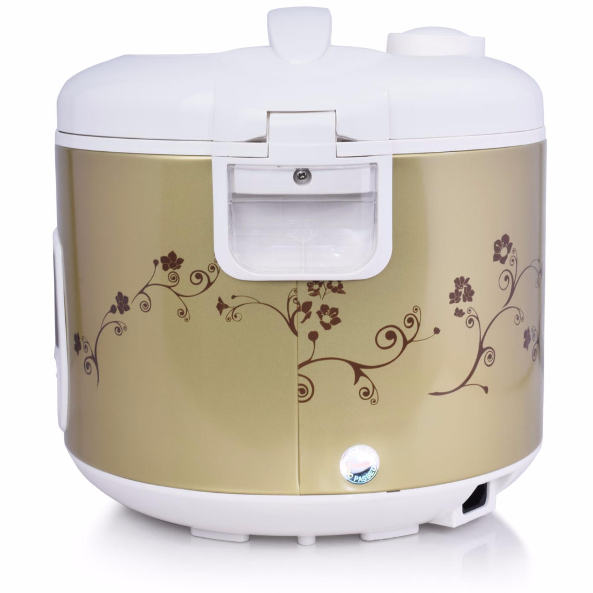Natsuper Nc1090c Rice Cooker Magic Com Jar Penanak Nasi Cmos 12l Crj10lj Cosmos 18l Dualcoating Crj