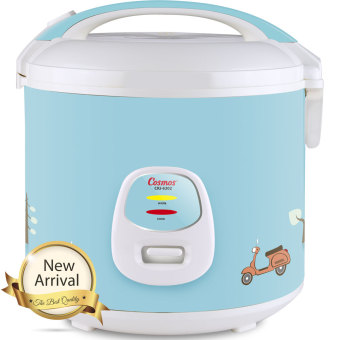 Cosmos Rice Cooker Magic Com ( Harmond Technology ) CRJ-6302 1,8 Liter - Biru