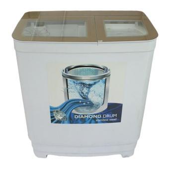 denpoo dw-9893 platinum 2 tabung mesin cuci 8 kg – putih – khususjabodetabek