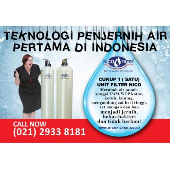 Filter Air Rumah Tangga - Filter Kran Air - Penjernih Air -Saringan Air