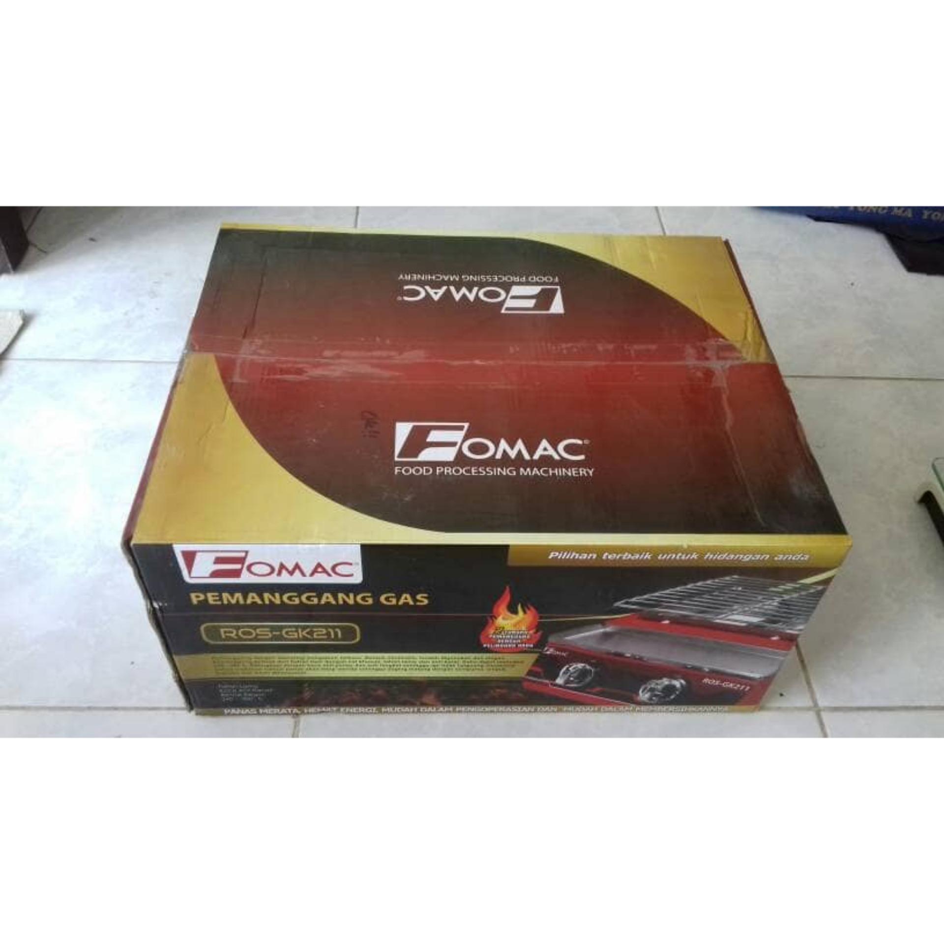 ... Fomac Kompor Panggang Gas 2 Tungku ROS-GK211 ...