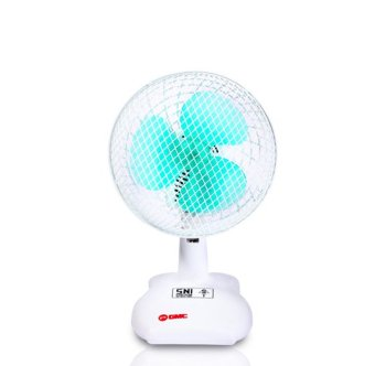 GMC Desk Fan 701 / Kipas Angin Meja 7 inch - Putih