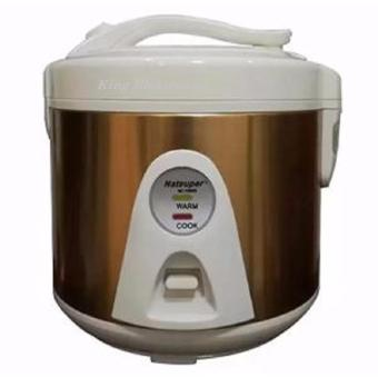 Natsuper NC1090C Rice Cooker / magic Com Kapasitas 1 LIter