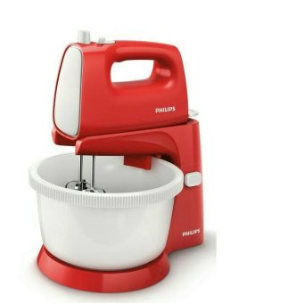 Harga PHILIPS Stand Mixer HR1559 - Merah..