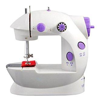 Harga Mini Sewing Machine Portable GT-202 - Mesin Jahit Mini - Putih