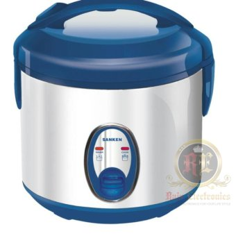 Harga Sanken Rice cooker / SuperCom 1 Liter – SJ120SP ( Premium Stainless Steel )
