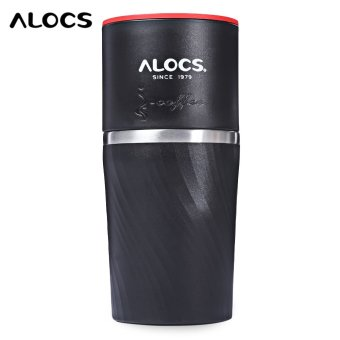 Harga ALOCS CW - K16 4 in 1 Stainless Steel Manual Coffee Machine Camping Home Grinding Equipment - intl