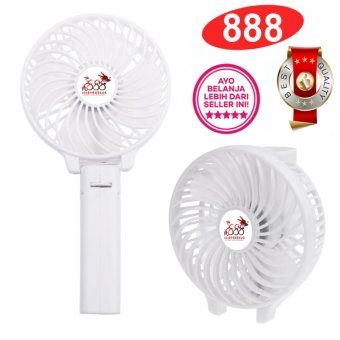 Harga 888 Kipas Mini Lipat Portable Handy Mini Fan Rechargeable Quality Brand