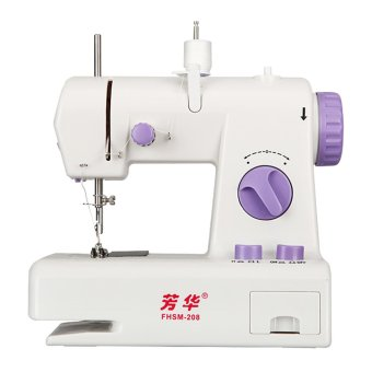 Harga Mini Sewing Machine FHSM208 - Mesin Jahit Mini Multifungsi