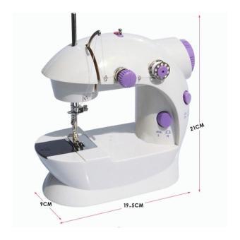 Harga PROMO MESIN JAHIT MINI !!! Mini Sewing Machine Portable GT-202 - Mesin Jahit Mini - Putih