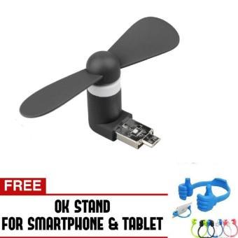 Spesifikasi Lucky Ok Stand Alat Penyangga Smartphone 1 Pcs Dan Harga Source · Lucky Kipas Mini