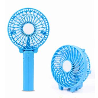 Kipas Bee Handy Mini Fan Lipat Portable Rechargeable Quality Brand - Warna Acak