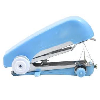 Harga Grosir Station - Mesin Jahit Mini Portable Sewing Machine - Biru