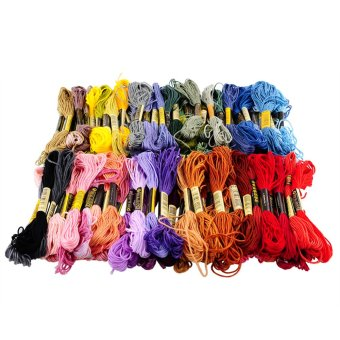 100 Colors Cross Stitch Cotton Embroidery Thread