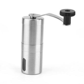 Harga Stainless Steel Coffee Bean Grinder Hand Handmade Coffee Grinder Manual Mill Kitchen Grinding Tool - intl