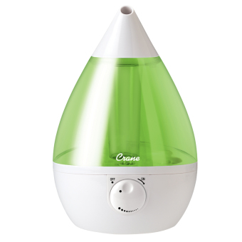 Harga Crane USA - Green and White Drop Cool Mist Humidifier