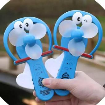 Kipas Angin Manual / Mini Fan Manual / Kipas Tanpa Baterai ModelTerbaru Praktis - Doraemon - 1 Pcs