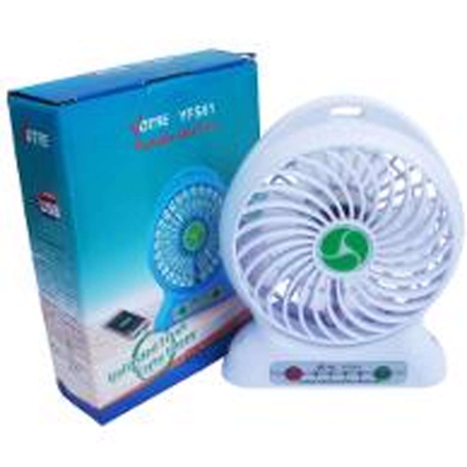 Diskon Penjualan Kipas Angin Mini Portable Battery Fan Bisa Untuk Powerbank