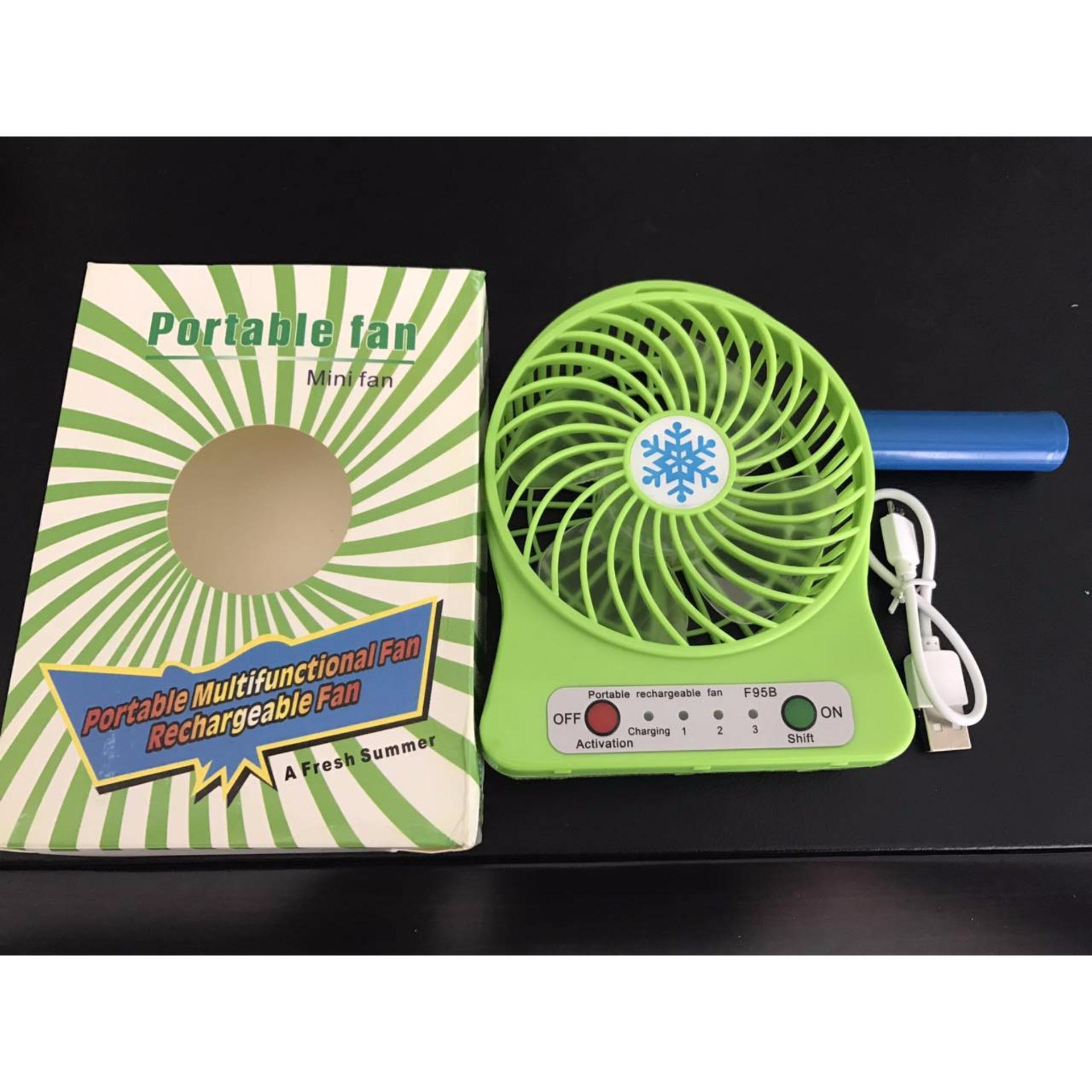 Harga Penawaran Kipas Angin Mini Portable Fan Usb