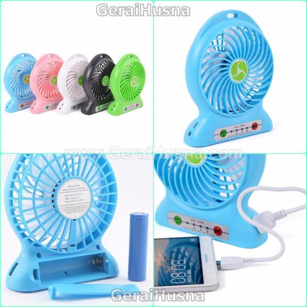 Usb Kipas Angin Rechargeable Mini F 188 Strong Wind Blue Harga Remax F3 Fan Pink Update