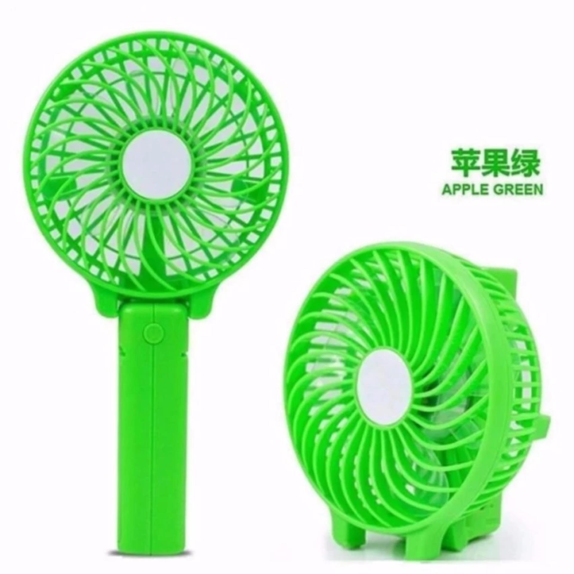 Kipas Angin Tangan II Handy Mini Fan Recharger - Hijau