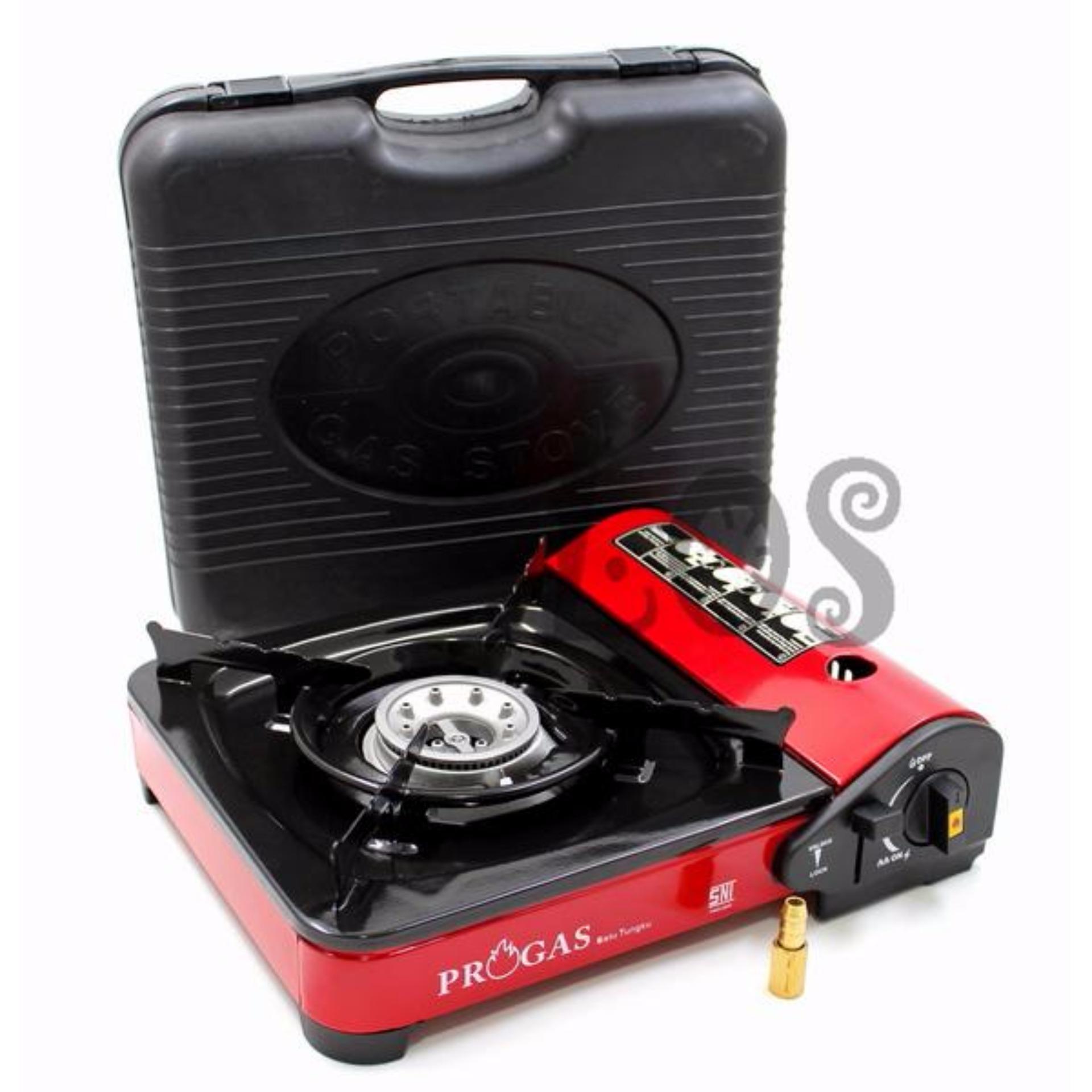 Kompor Portable Mini Progas 2in1 .