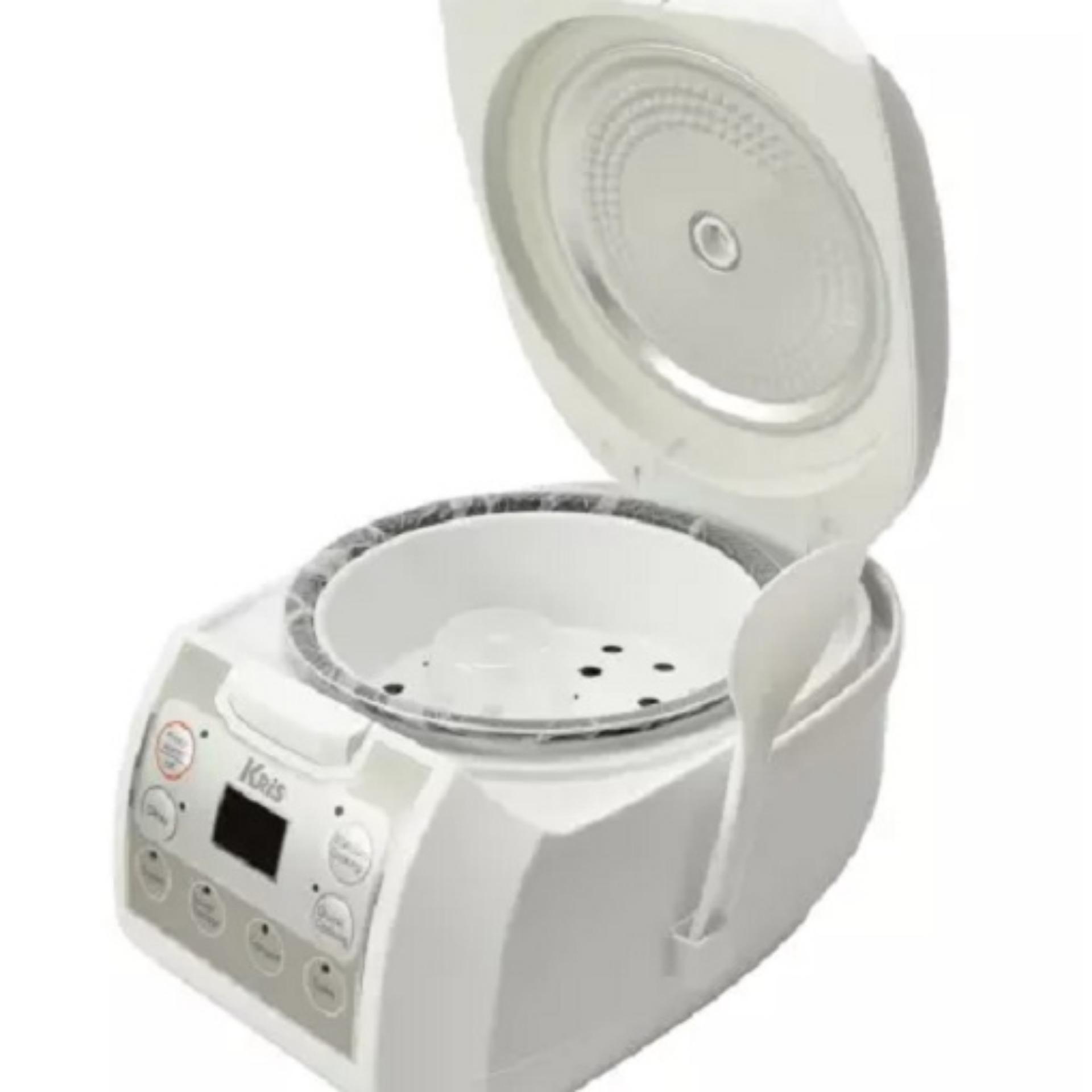 ... Kris Rice Cooker Digital Serbaguna 1 2L. Kris Rice Cooker Digital Serbaguna 1 2L. Starhome Rice Cooker Mini 2 Susun Kapasitas 1 L Penanak Nasi ...