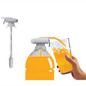 Magic Tap Creative Beverage Drink Dispenser Electric AutomaticDrinking Straw Fruit Juice Coke Milk Drinks Suck Tools - intl
