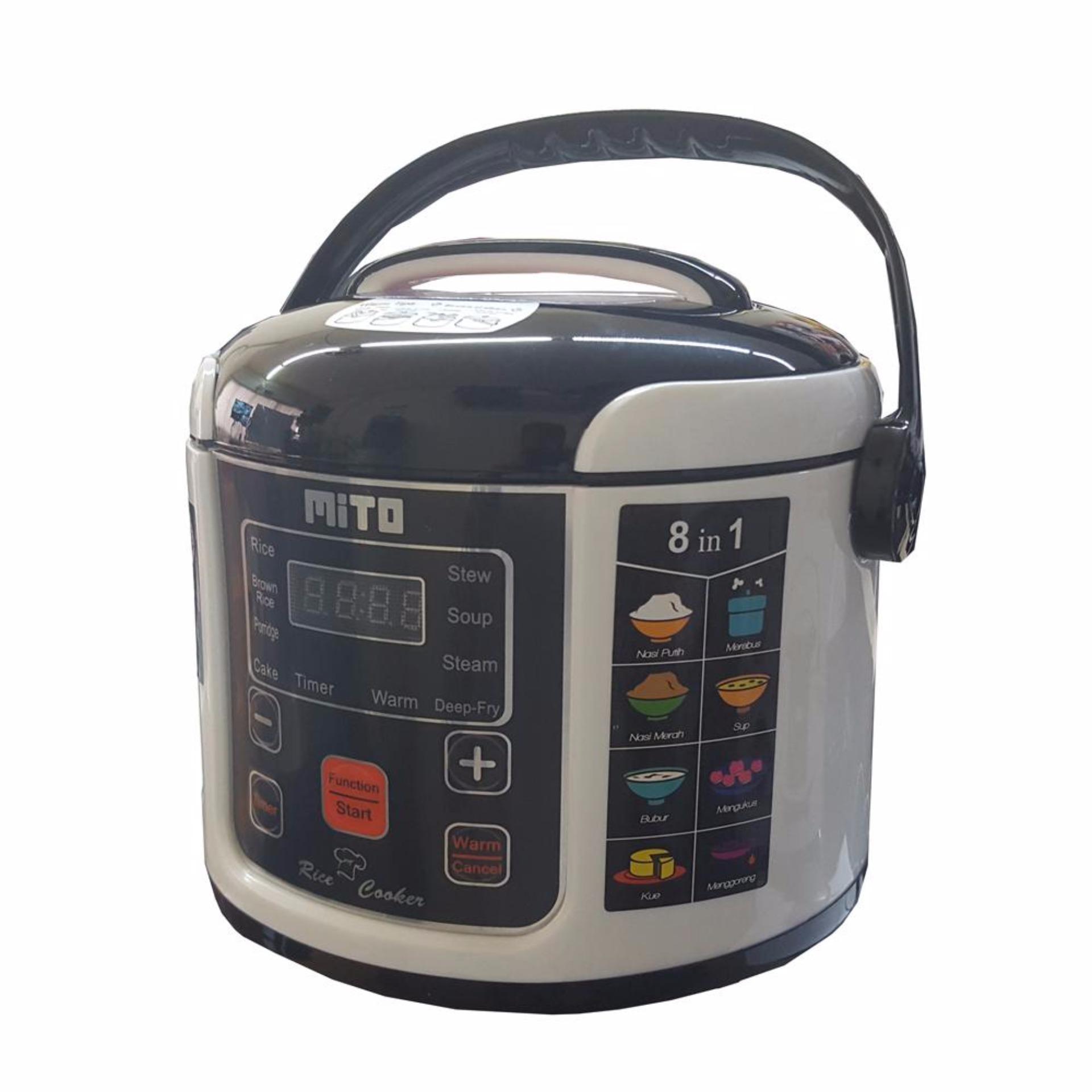 Mito digital rice cooker 1L 8in1/magic com mito .