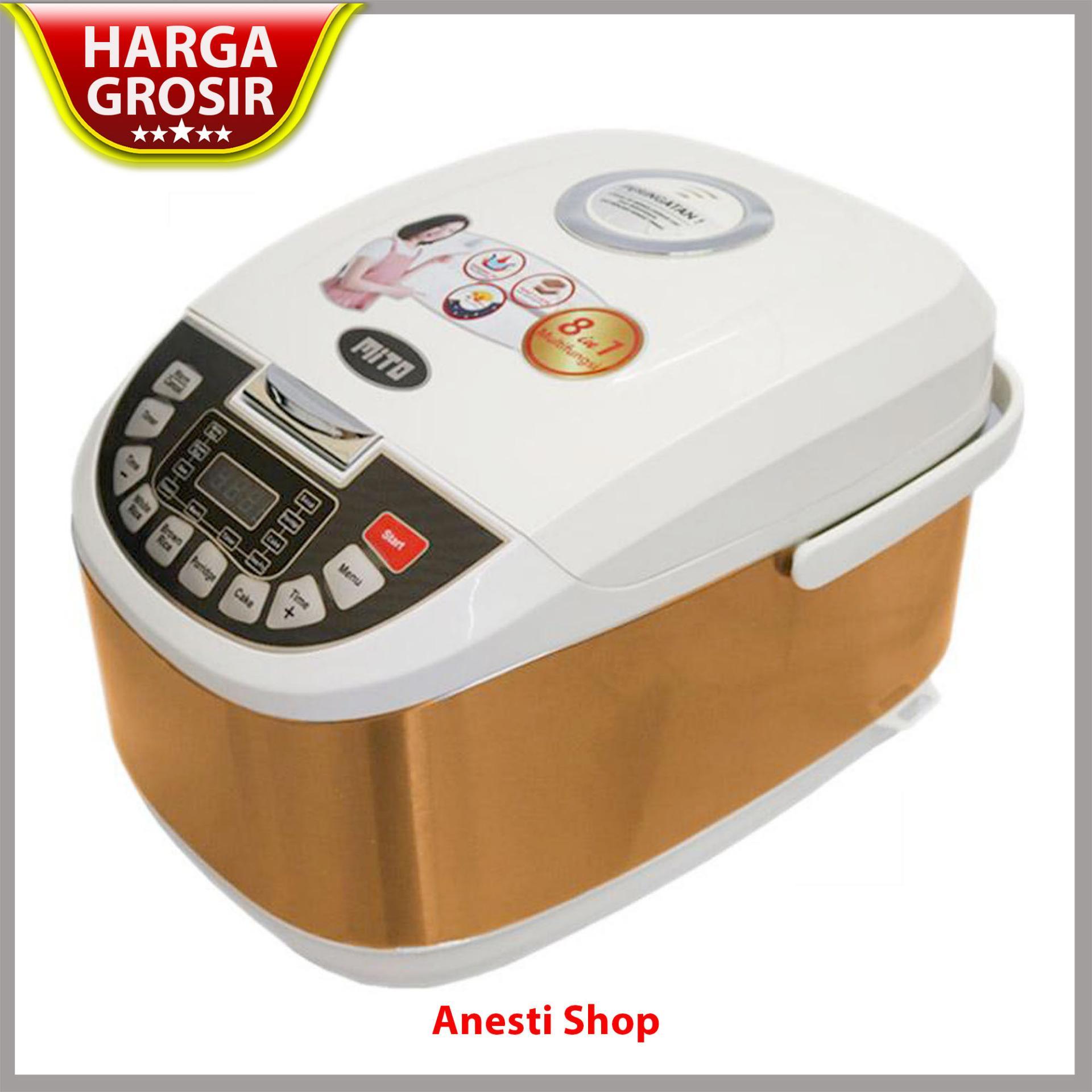 Maret 2018 Toko Kebutuhan Rumah Tangga Terlengkap 99 Miyako Mcm 609 Magic Com 06 Liter Warm And Cook Mito R5 Digital Rice Cooker 8 In 1 Kap 2 L Gold
