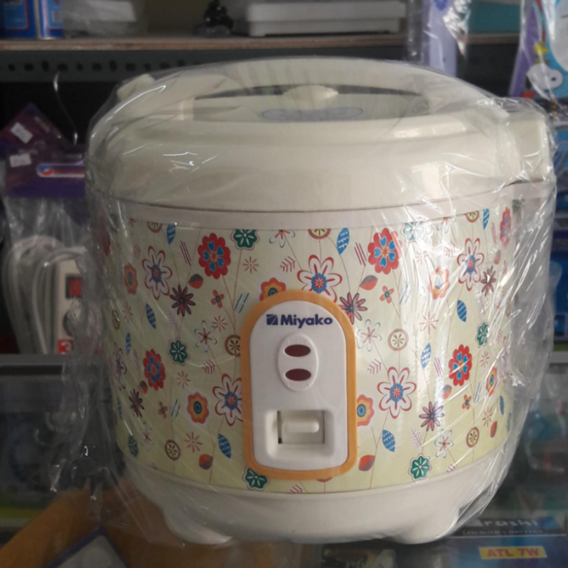 Price Checker Miyako Rice Cooker 3 In 1 Magic Com Warmer Plus 063 Jar Mcm 508 18 Liter