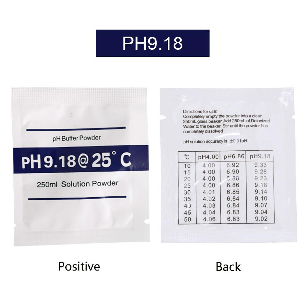 ... niceEshop 3-pack PH Meter Buffer Solution Powder Set For Quick And Easy PH Calibration ...
