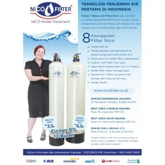 Nico Filter Air - Filter Kran Air - Saringan Air - Penjernih Air