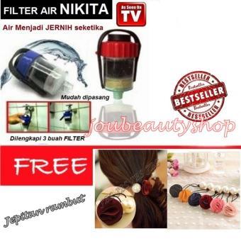 HEMAT Nikita Water Filter Penyaring Air Efisien Saringan Kran – JepitanRambut Cantik – Jepitan Rambut Mutiara TERBAIK