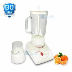 Niko Blender Glass Jar NK-4 Bahan Kaca Low Watt with Grinder - Putih