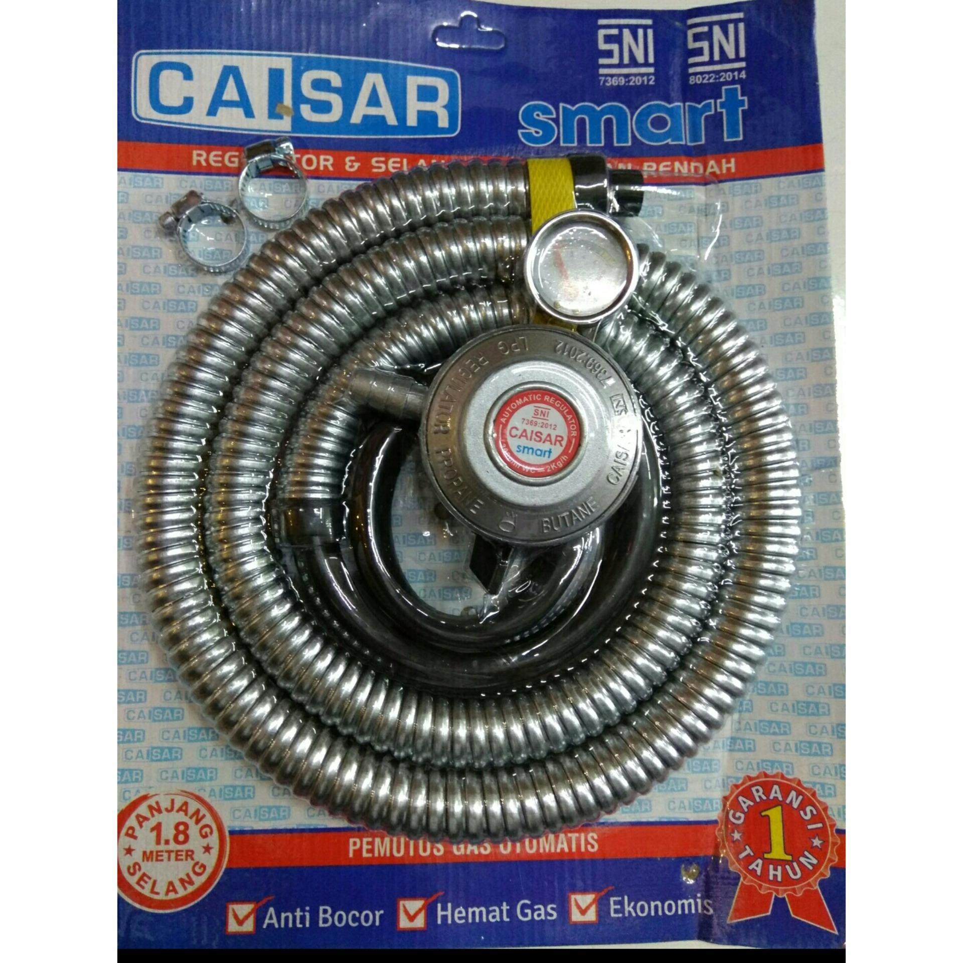 Price Checker Paket Selang Dan Regulator Caisar Hot Deals Gas Quantum Qrl 032