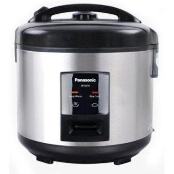 harga Panasonic SR-CEZ18SSR Rice Cooker 3 in 1 Anti Lengket (Silver) Lazada.co.id
